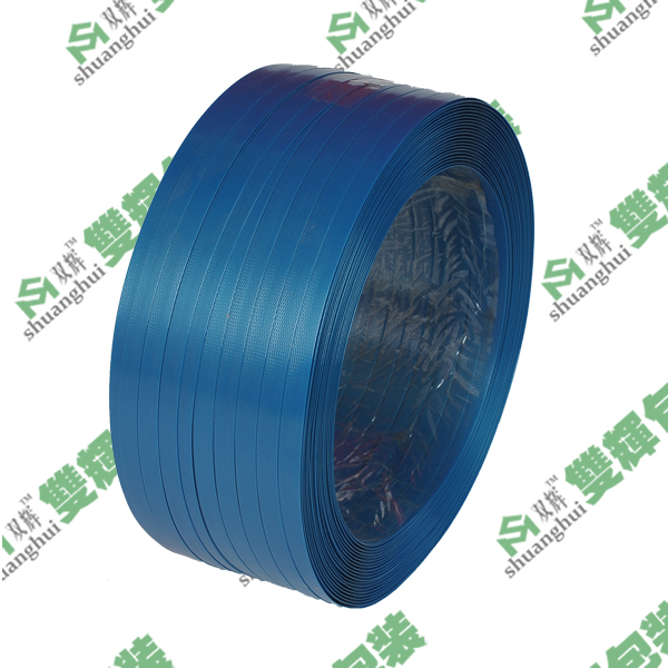 蓝色PET塑钢打包带