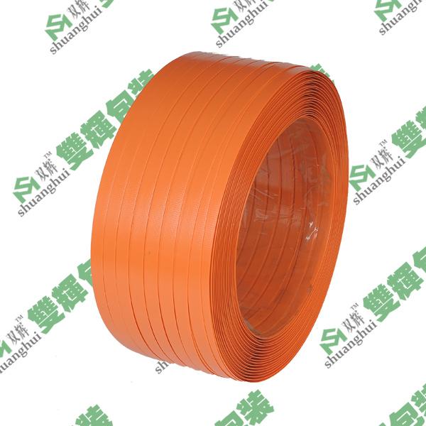 亮橙色PET塑钢打包带